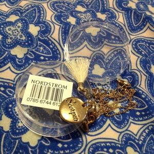NWT Nordstrom Zodiac Sign Necklace